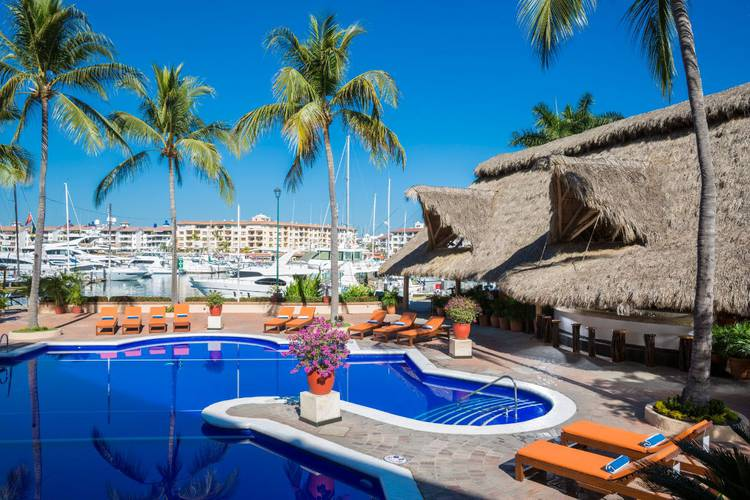 Swimming pool flamingo vallarta hotel & marina puerto vallarta
